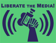 "thumbnail of ""Liberate the Media!"" t-shirt"