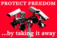 "thumbnail of ""Protect Freedom... by taking it away"" t-shirt"