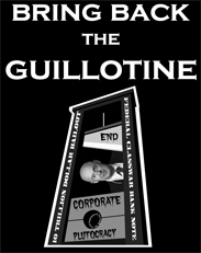 thumbnail of Bring Back the Guillotine t-shirts
