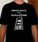 Henry Paulson version of Bring Back the Guillotine t-shirt