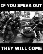 """If you speak out... they will come"" t-shirt thumbnail"